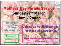 Mothers' Day Parade Service